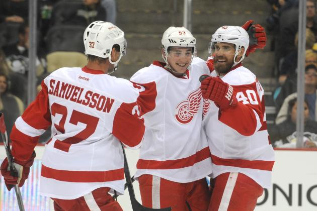 Grading the Detroit Red Wings' 2013 Offseason