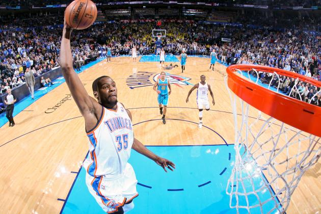 25 Incredible Kevin Durant Highlights for OKC Thunder Star's 25th Birthday