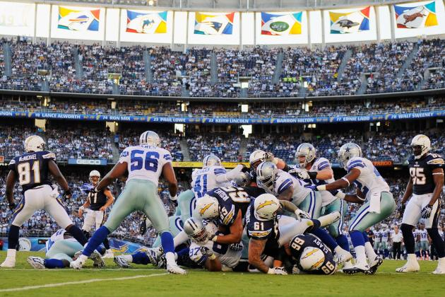 5 Reasons Why Dallas Cowboys Should Beat San Diego Chargers