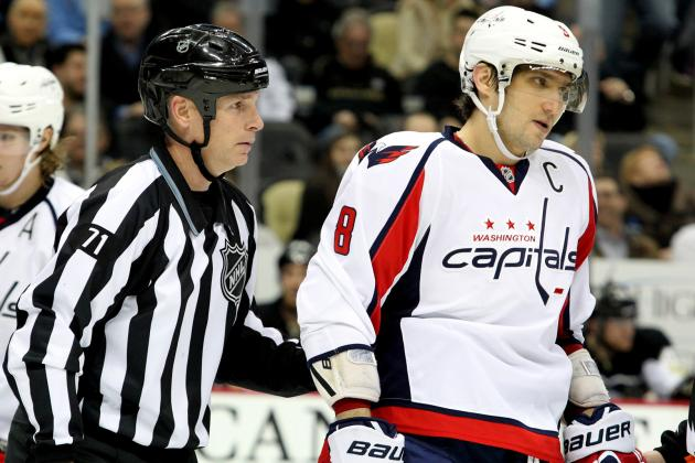 Washington Capitals Who Will Spend the Most Time in Penalty Box in 2013-14
