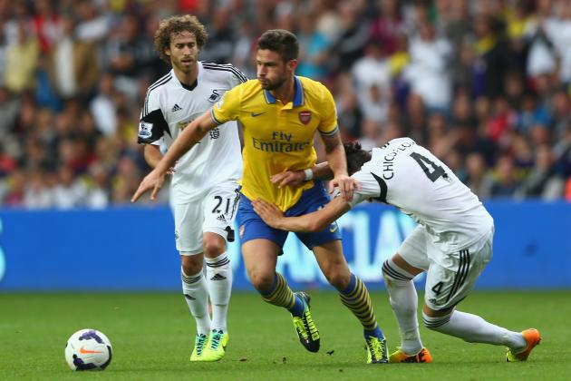 Swansea vs. Arsenal: 6 Things We Learned