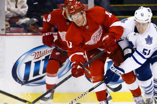 Detroit Red Wings: Biggest Concerns for the 2013-14 NHL Season