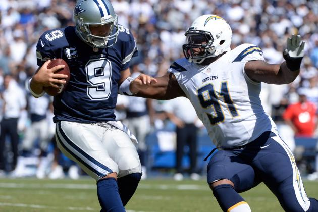 Cowboys vs. Chargers: Takeaways from San Diego's 30-21 Win over Dallas