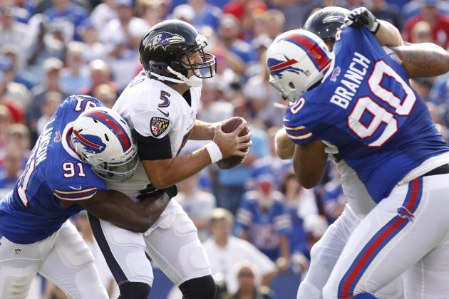 Ravens vs. Bills: Full Roster Report Card Grades for Baltimore