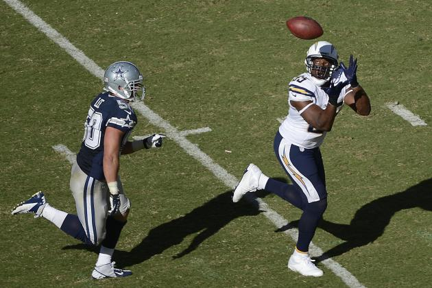 San Diego Chargers Positional Grades vs. Cowboys