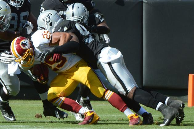 Redskins vs. Raiders: Full Roster Report Card Grades for Oakland