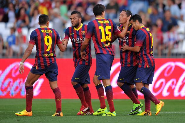 How Barcelona Will Line Up Against Celtic