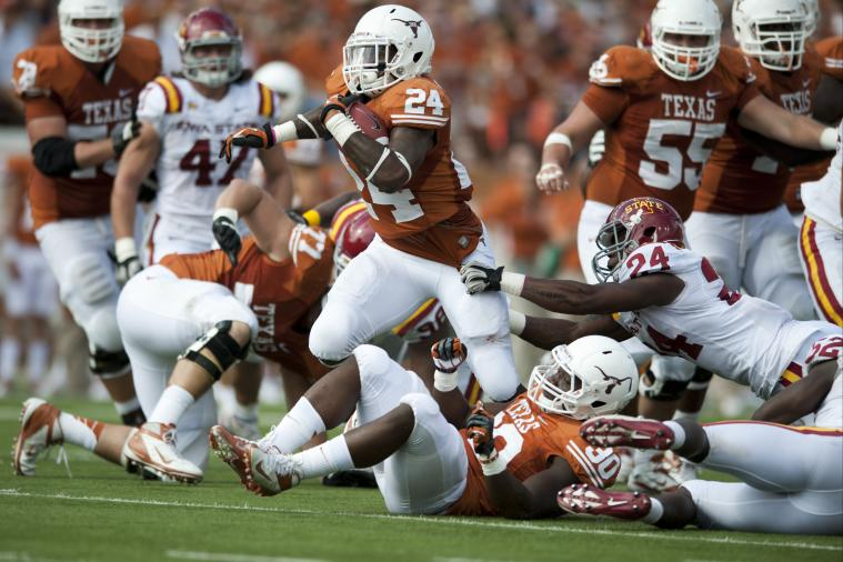 Texas Longhorns vs. Iowa State Cyclones: Complete Game Preview