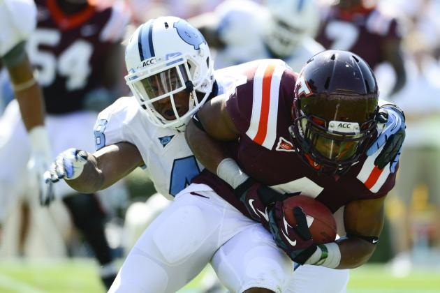 North Carolina Tar Heels vs. Virginia Tech Hokies: Complete Game Preview