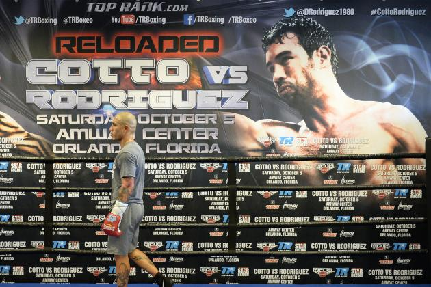 Miguel Cotto vs. Delvin Rodriguez: Preview and Prediction for Upcoming Bout