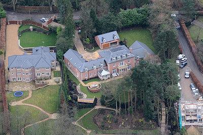 Wayne Rooney villa in Prestbury