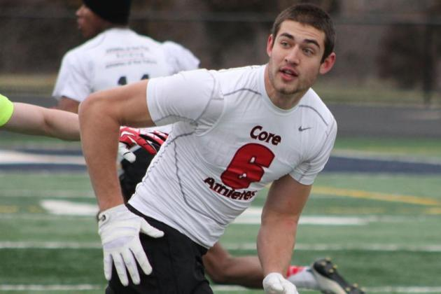 Scouting Report, Video Highlights and Predictions for Michigan TE Ian Bunting