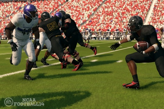 College Football 2013 Week 6 Simulation