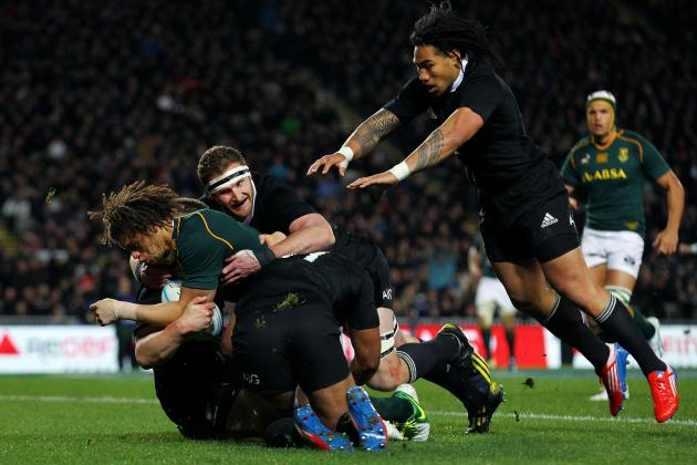 South Africa vs. New Zealand: 5 Greatest Tries in Springbok-All Blacks Matches