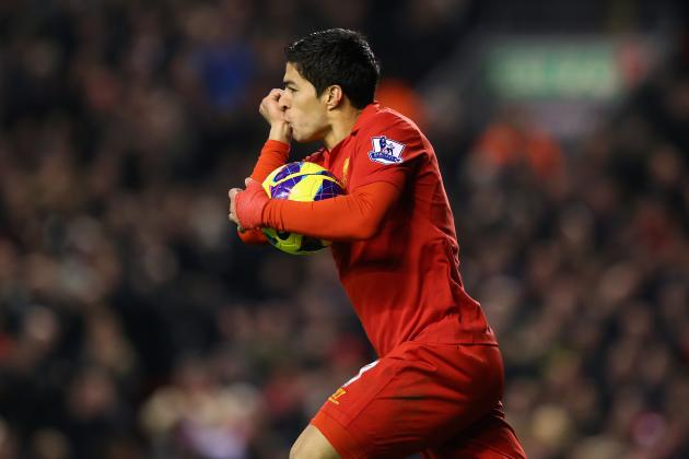Luis Suarez's Top 5 Liverpool Goals