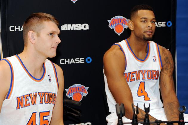 Breaking Down NY Knicks Camp Invitees' Chances of Making Final Roster