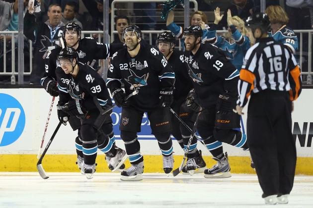 1 Prediction for San Jose Sharks' Top Stars in 2013-14