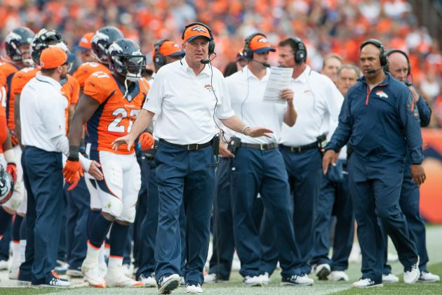 Denver Broncos: Grading Denver's Positional Units at the First Quarter Mark