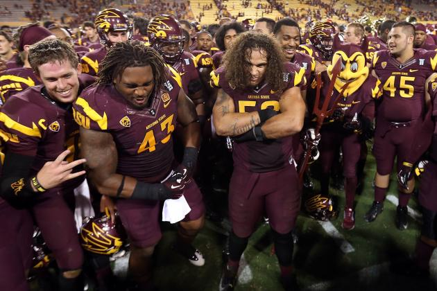 Arizona State Football: Power Ranking the Sun Devils' 5 Best NFL Prospects