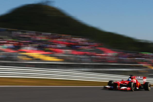 Korean F1 Grand Prix 2013: Results, Times for Practice and Qualifying