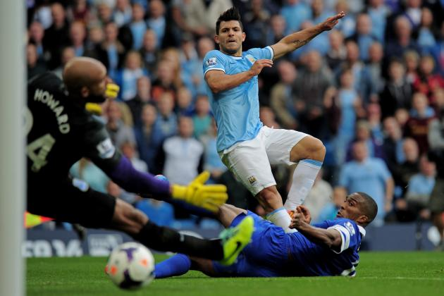 Premier League Results: Man City vs. Everton and All the Weekend's Matches