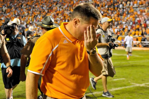 Georgia vs. Tennessee: 10 Things We Learned in Vols' Loss
