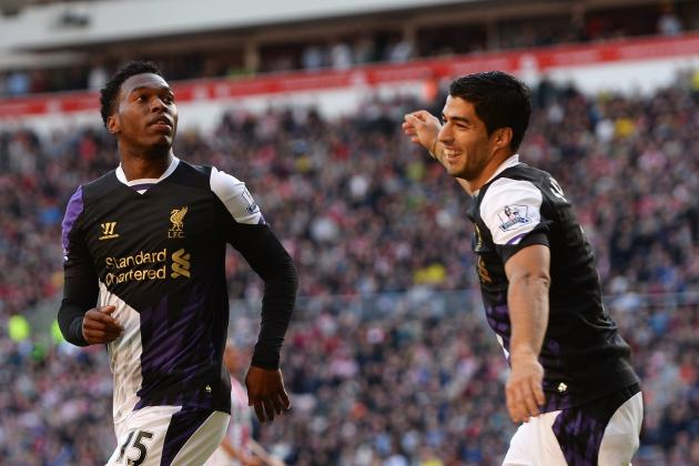 Premier League Team of the Week: Suarez, Sturridge and Januzaj Star