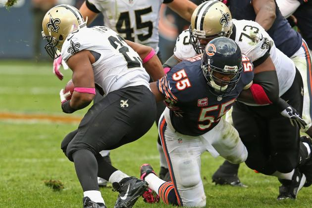 Bears vs. Saints: Full Roster Report Card Grades for Chicago