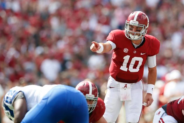 Alabama Football: 5 Startling Statistics from Tide's 2013 Campaign