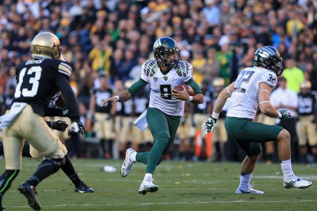 Oregon Football: 5 Startling Statistics from Ducks' 2013 Campaign
