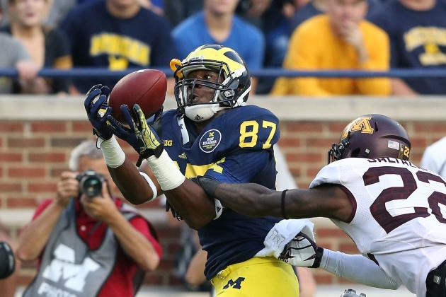 Michigan Football: 5 Startling Statistics from Wolverines' 2013 Campaign