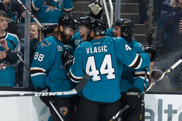 Odds for San Jose Sharks' 2013-14 MVP