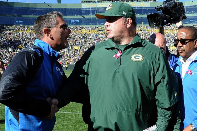 Detroit Lions vs. Green Bay Packers: Full Lions Report Card