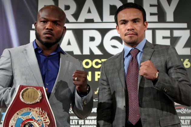 Timothy Bradley vs. Juan Manuel Marquez: Everything You Need to Know