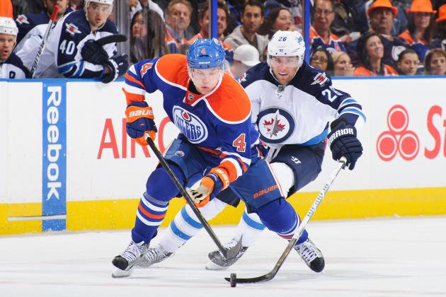 Odds for the Edmonton Oilers' 2013-14 MVP