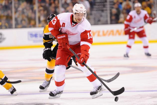 Odds for Detroit Red Wings' 2013-14 MVP