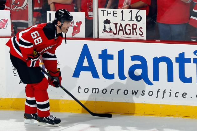 Odds for New Jersey Devils' 2013-14 MVP
