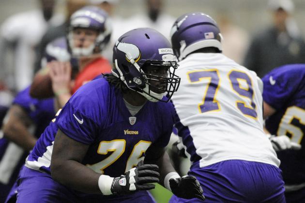 NFL Jersey's Pro Line Men's Minnesota Vikings Jeff Baca Team Color Jersey - Purple