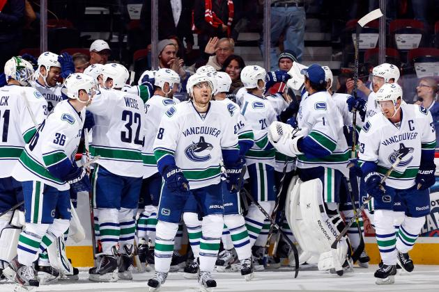 Odds for Vancouver Canucks' 2013-14 MVP