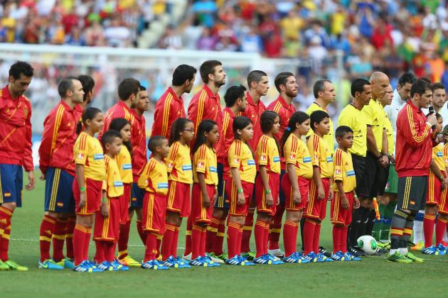 Spain's 5 Greatest Players Ever