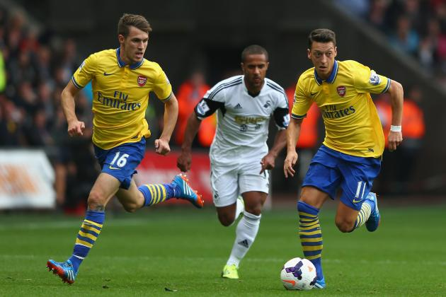 Arsenal's Array of Midfield Options Can Make the Difference in Title Race