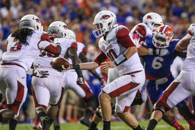 Arkansas Football: 5 Startling Statistics from the Razorbacks' 2013 Campaign