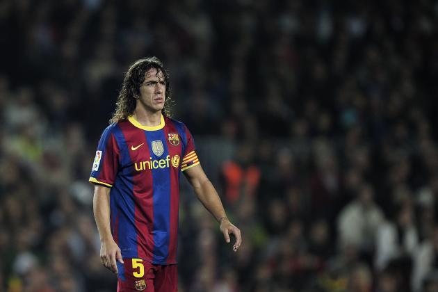 Carles Puyol Barcelona Jersey What Barcelona 39 s Carles Puyol