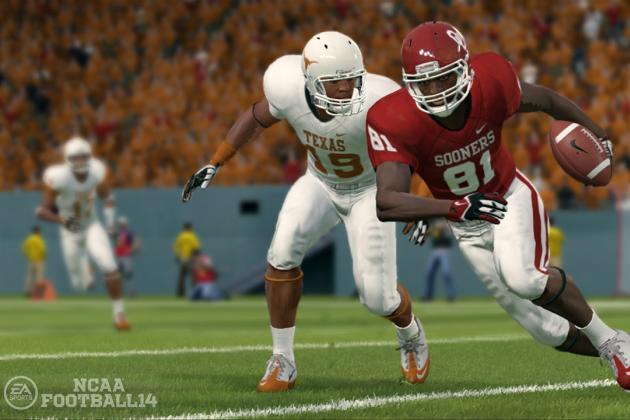 College Football 2013 Week 7 Simulation