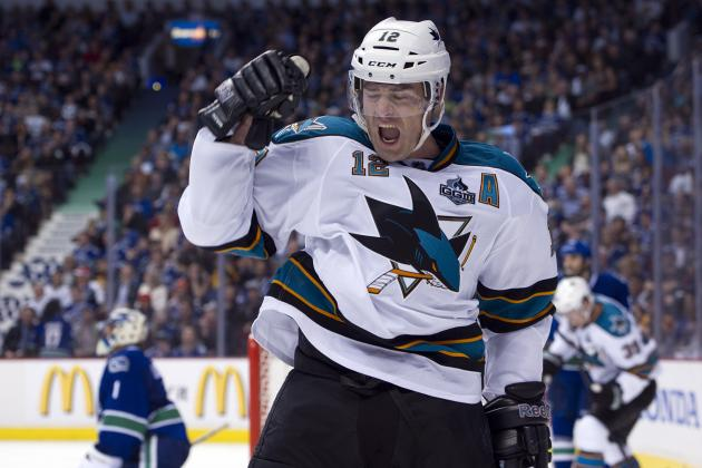Ranking the 5 Greatest Scorers in San Jose Sharks History