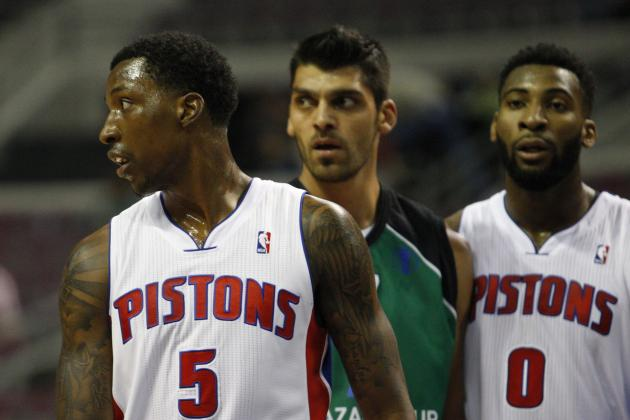 Winners and Losers from Week 1 of Detroit Pistons' Preseason