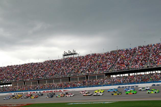 Ranking the 10 Greatest NASCAR Sprint Cup Chase for the Cup Moments at Talladega
