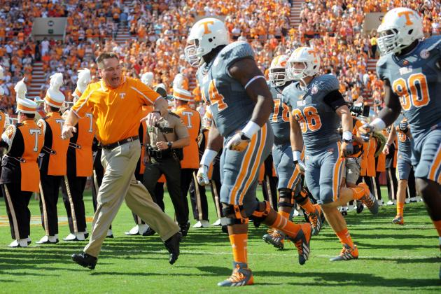 Tennessee Football: 5 Startling Statistics from Volunteers' 2013 Campaign