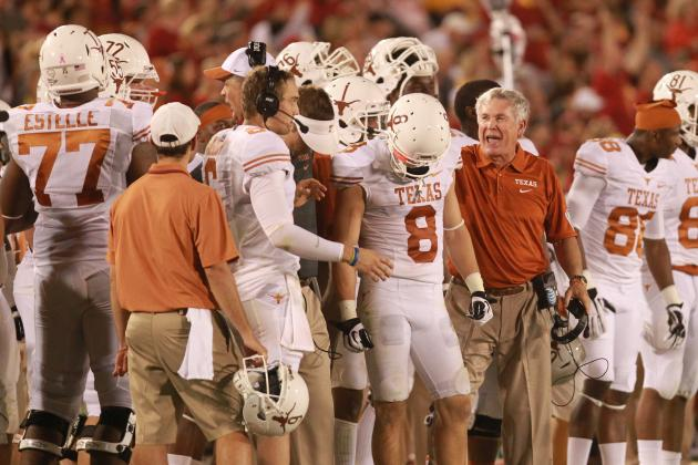 Texas Football: Midseason Grades for Players and Coaches