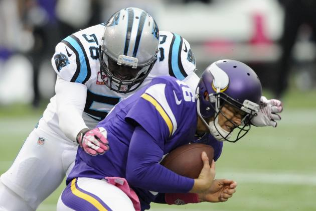 Panthers vs. Vikings: Takeaways from Minnesota's 35-10 Loss to Carolina